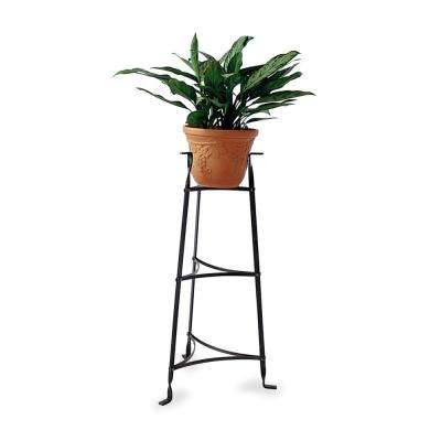 3-Tier Plant Stand in Hammered Steel