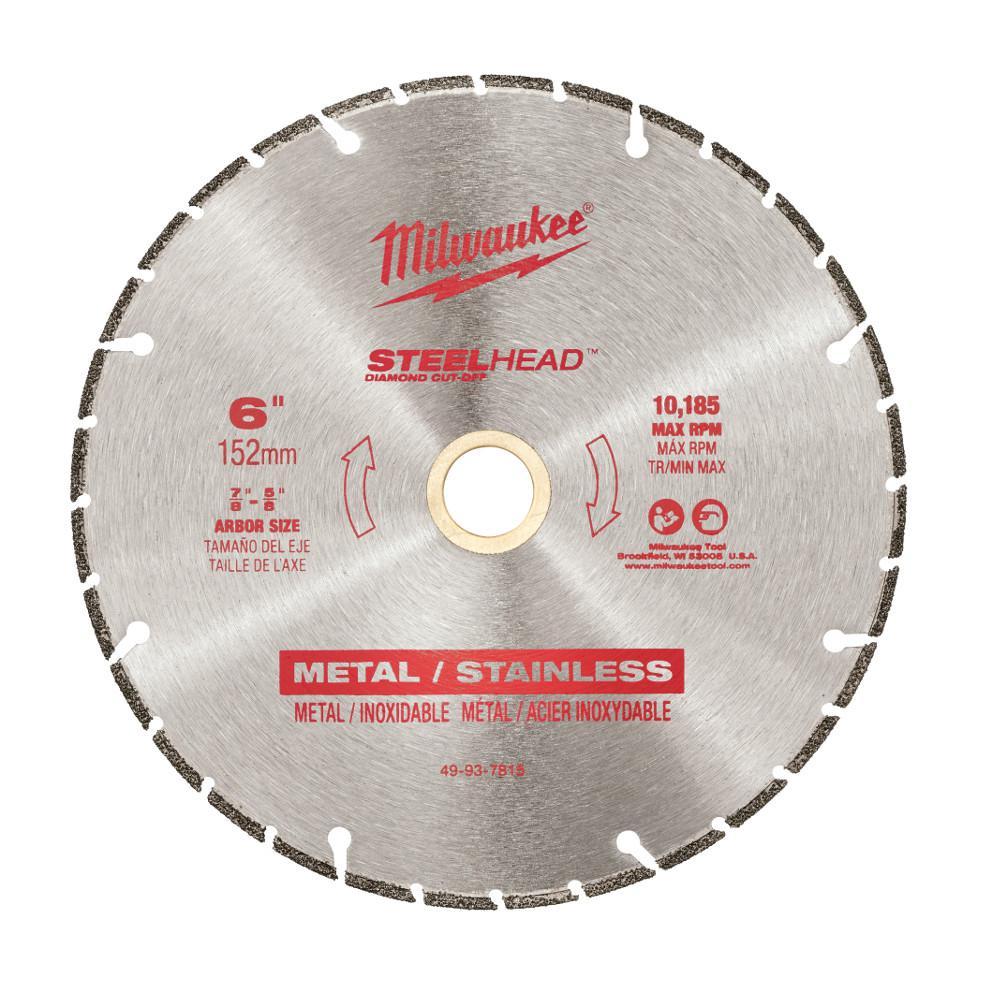 6 in. Steelhead Diamond Cut Off Blade