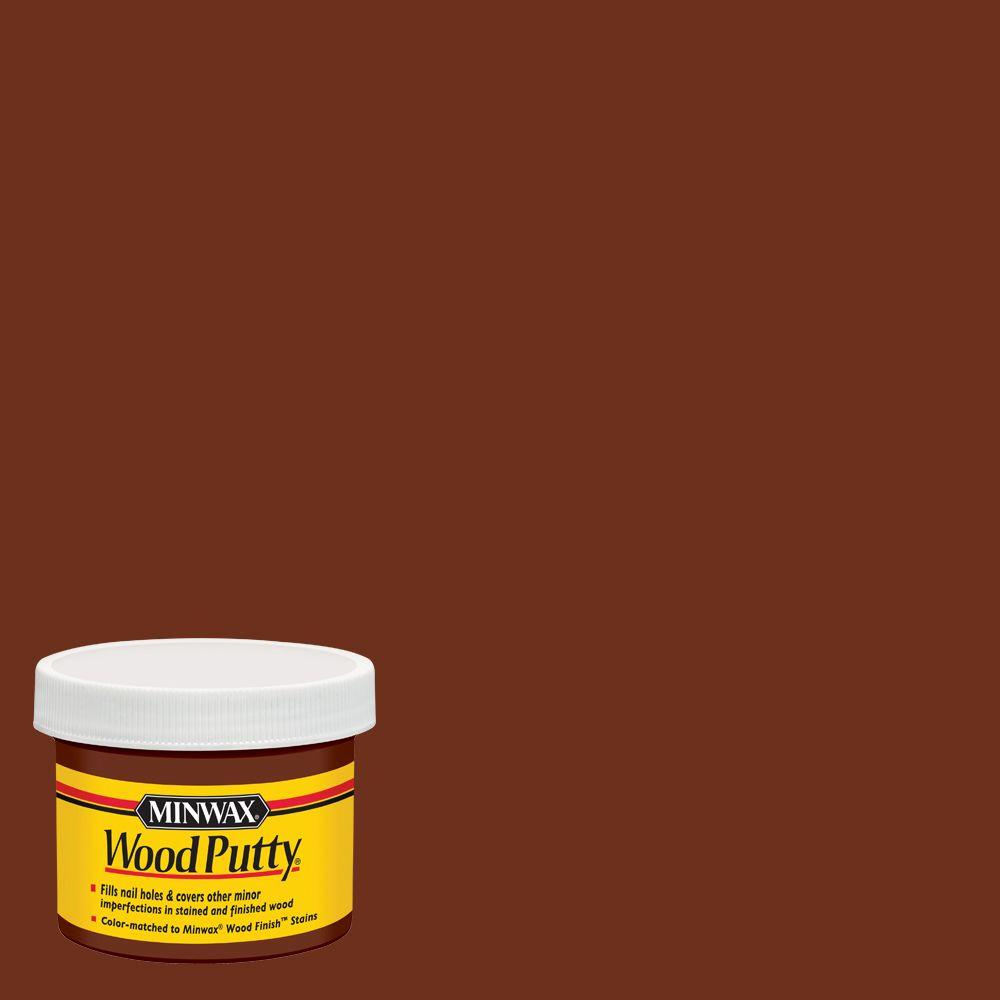 Minwax 3.75 oz. Red Mahogany Wood Putty