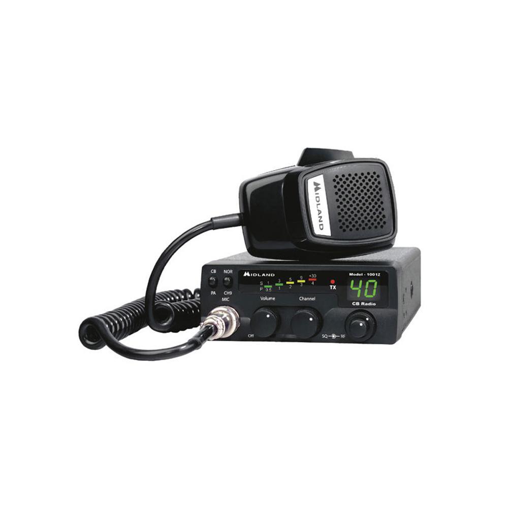 Compact Mobile 40-Channel CB Radio