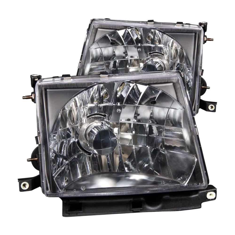 1997-2000 Toyota Tacoma Crystal Headlights Black