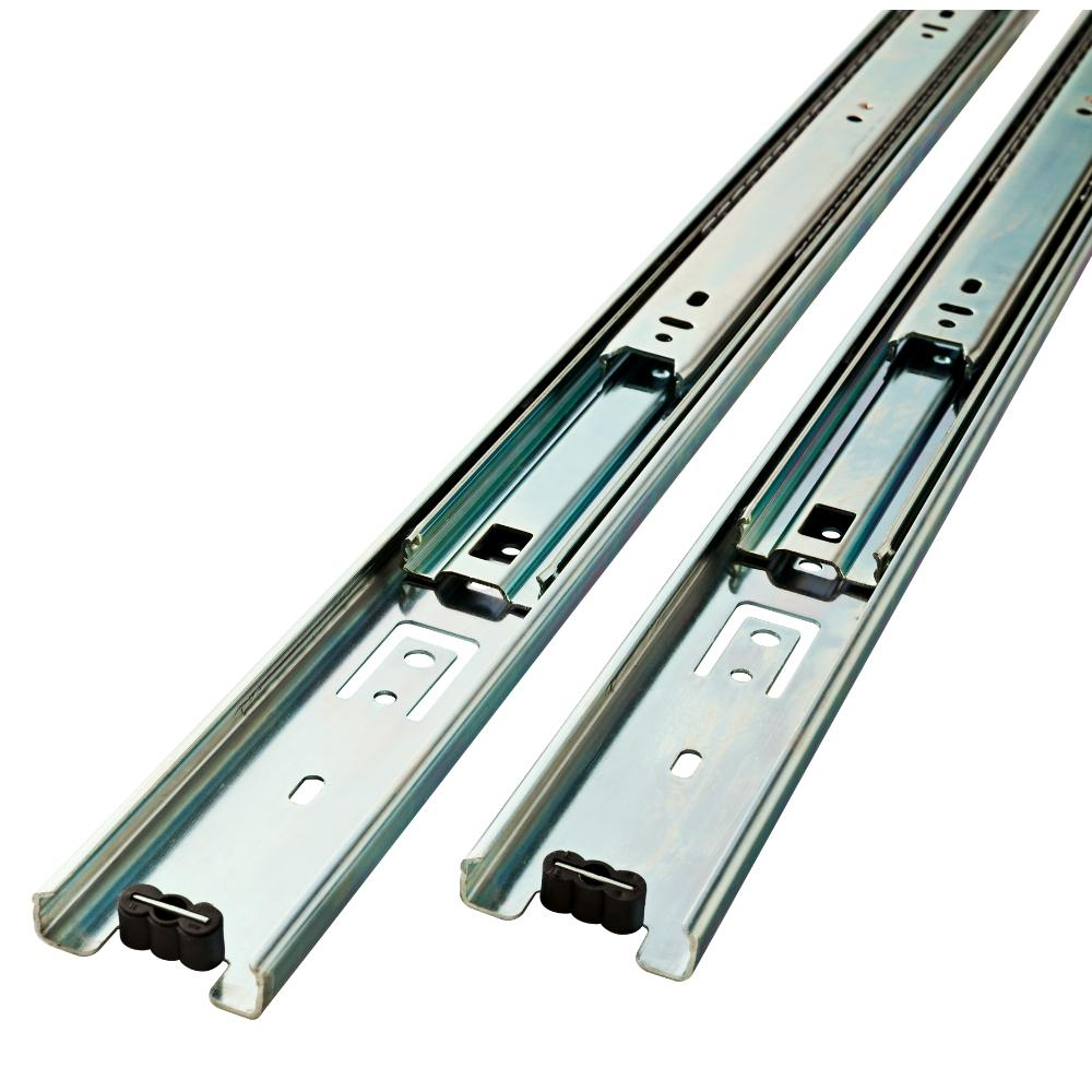 Everbilt 14 in. Full Extension Side Mount Ball Bearing Drawer Slide Set