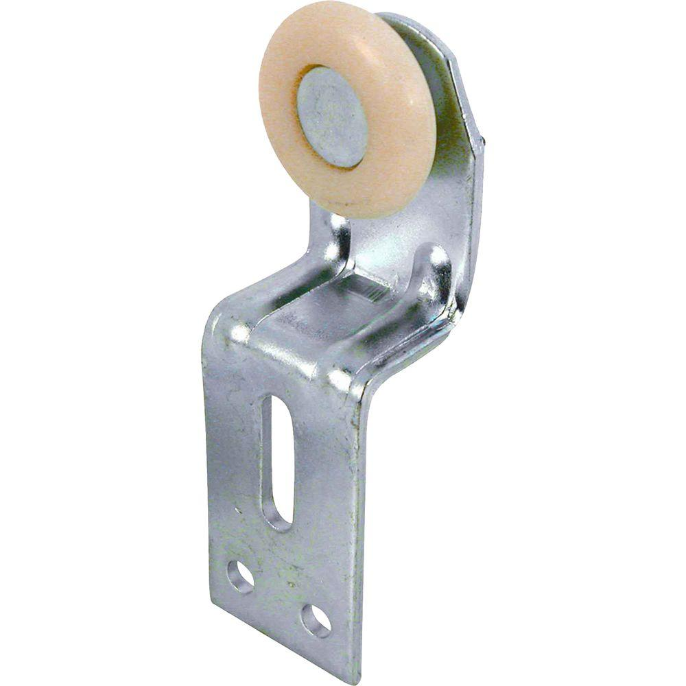 3/4 in. Back-Position Top-Hung Bypass Closet Door Rollers with Brackets