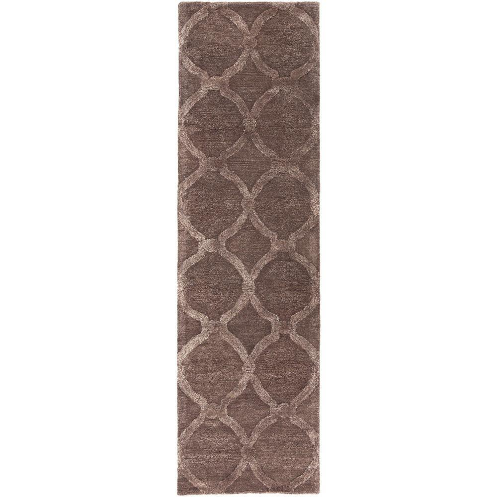 Urban Lainey Light Brown 2 ft. 3 in. x 8 ft.