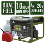 Sportsman 3500W Dual Fuel LPG or Gasoline Portable Generator