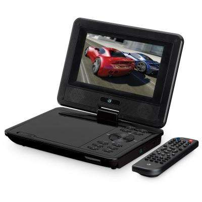 Portable 7 in. DVD Player with Remote