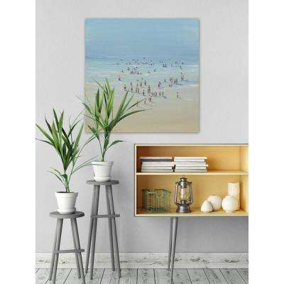 "40 in. H x 40 in. W ""Beach Day II"" by Marmont Hill Canvas Wall Art"