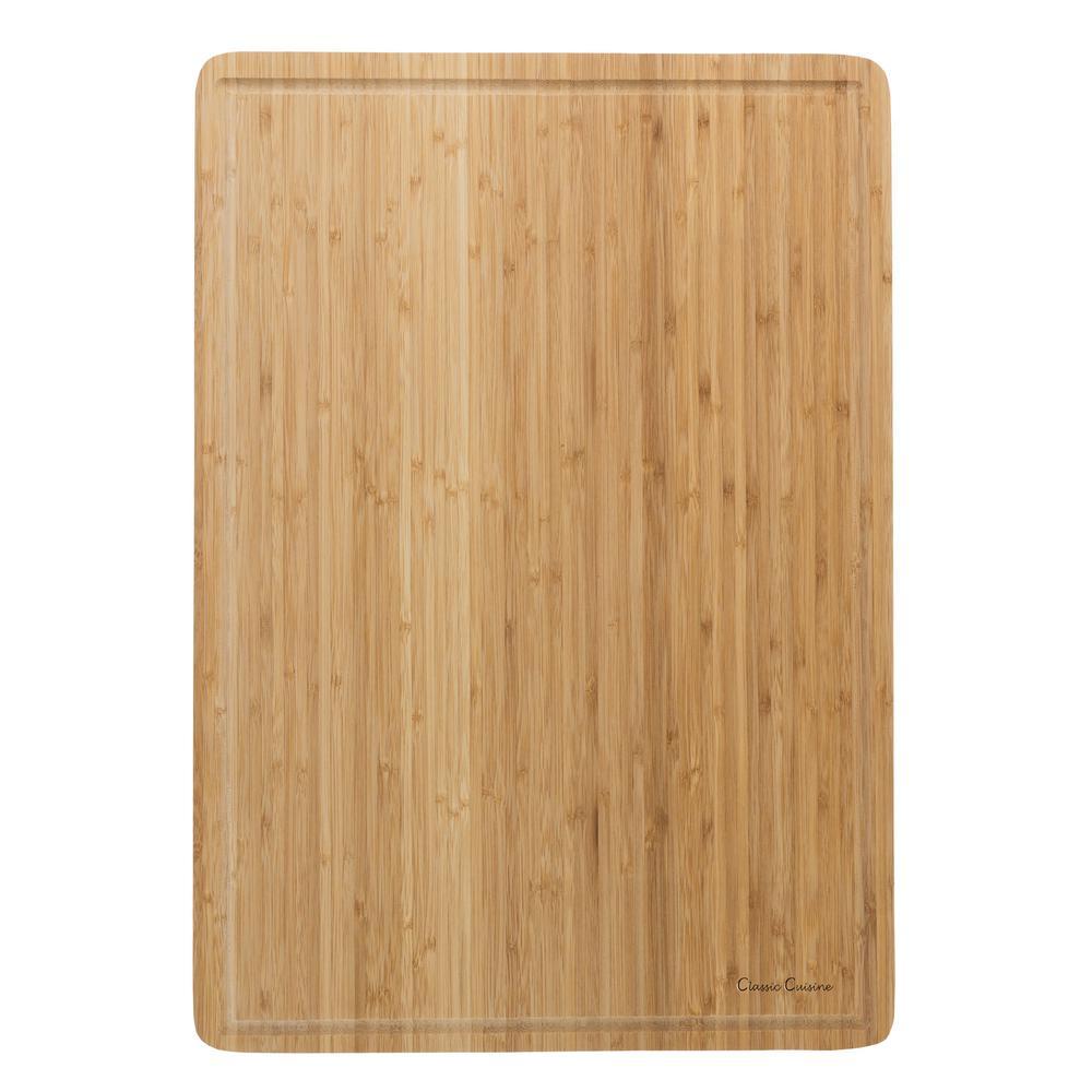 Cutting Board: Trademark Wooden Cutting Board-M030208