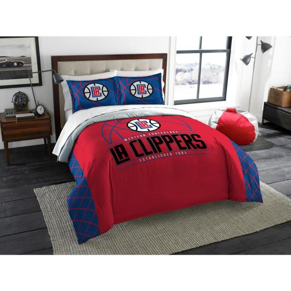 Clippers 3 Pc. Multi Color Polyester Reverse Slam Full and Queen