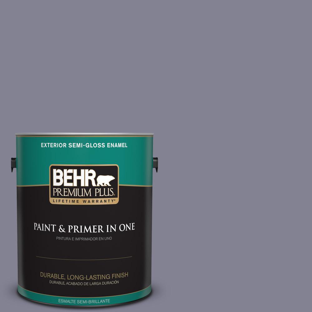 1 gal. #PPU16-16 Metro Semi-Gloss Enamel Exterior Paint