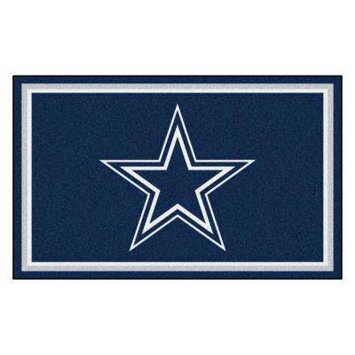 Dallas Cowboys 4 ft. x 6 ft. Area Rug