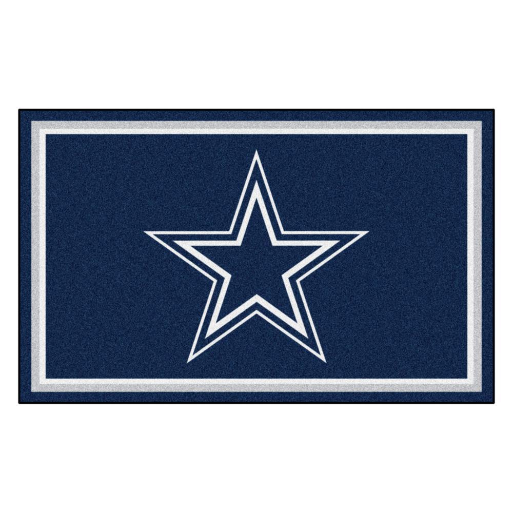 Fanmats Dallas Cowboys 4 Ft X 6