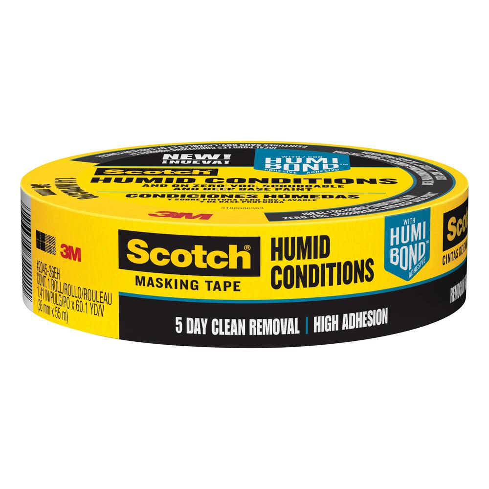 3m scotch in x 60 1 yds masking tape for humid conditions case of 16 2045 36eh the. Black Bedroom Furniture Sets. Home Design Ideas