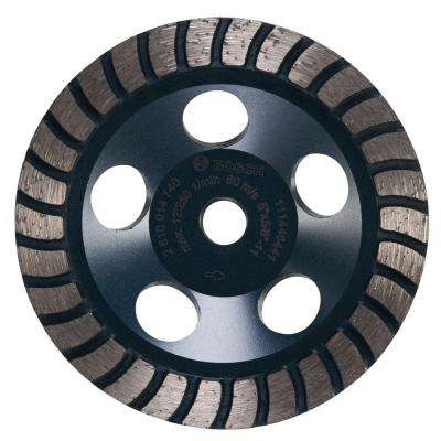 5 in. Turbo Row Diamond Cup Wheel