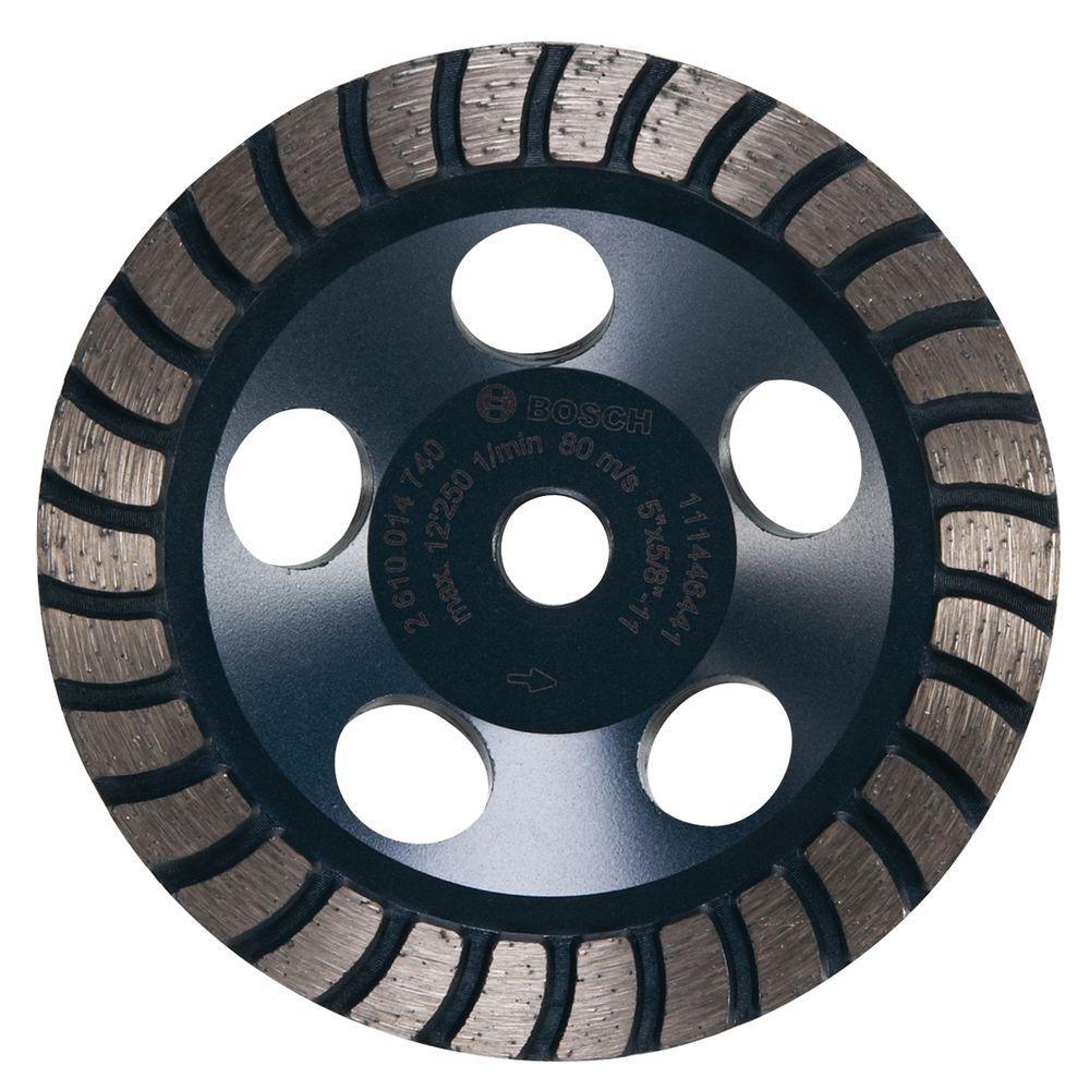 5 in. Turbo Row Diamond Cup Wheel