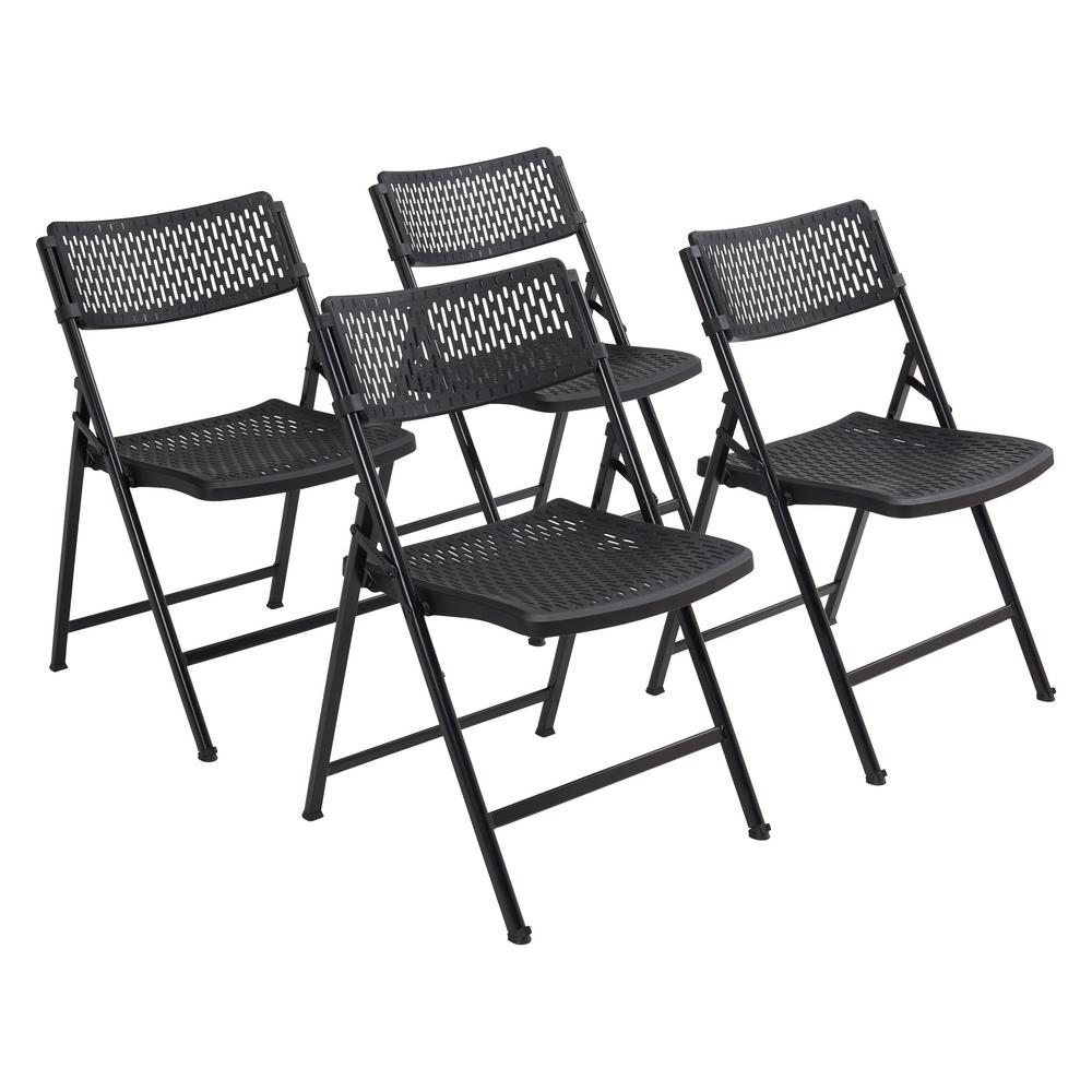 Superb National Public Seating Airflex Series Premium Polypropylene Folding Chair Pack Of 4 Gmtry Best Dining Table And Chair Ideas Images Gmtryco