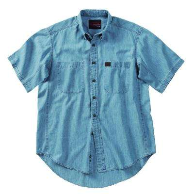 2X-Large Men's Riggs Chambray Work Shirt