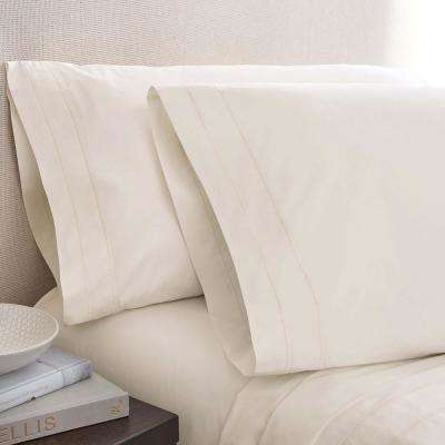 Pearl Cotton King Pillowcase Pair