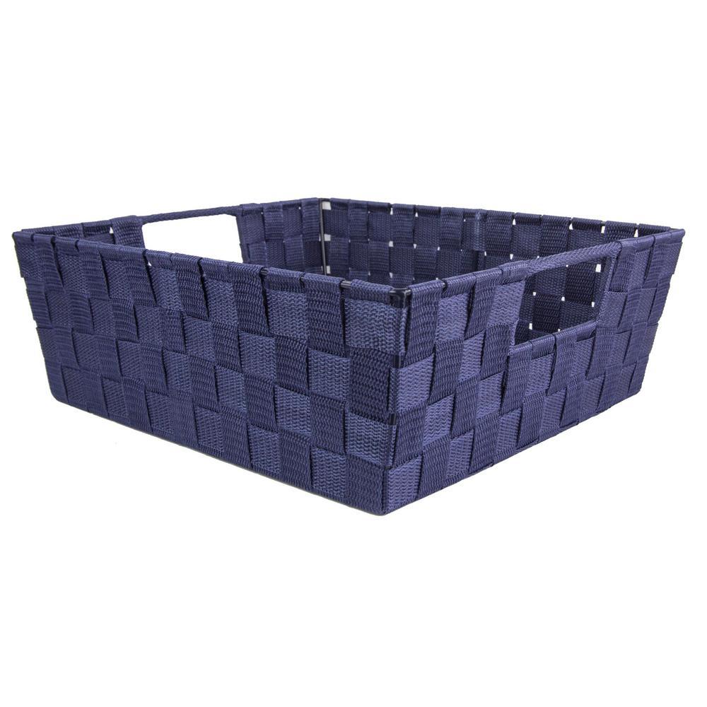 Home Basics Decorative Storage Basket