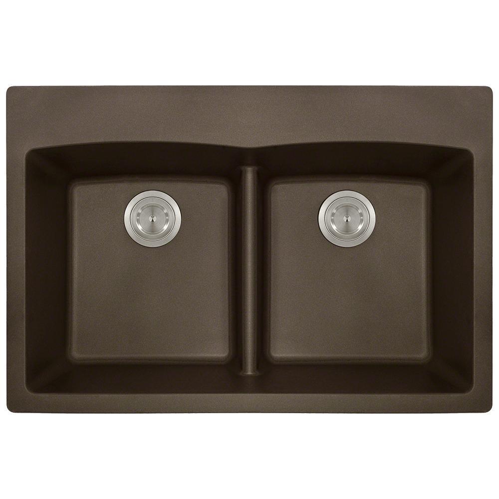 Mocha Kitchen Sink Faucet