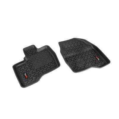 Floor Liner Front Pair Black 2011-2014 Ford Explorer