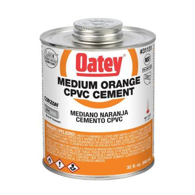 32 oz. Medium Orange CPVC Pipe Cement