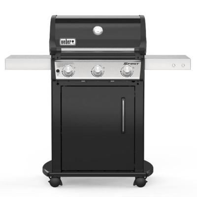 Spirit E-315 3-Burner Liquid Propane Gas Grill in Black