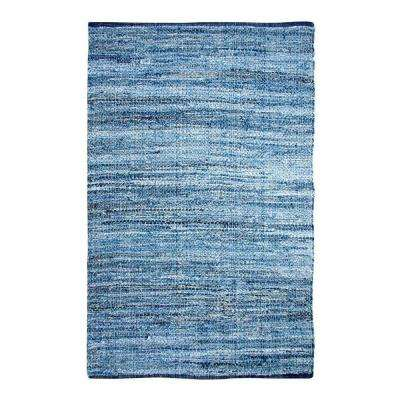 Chindi Denim 5 ft. x 7 ft. Indoor Area Rug
