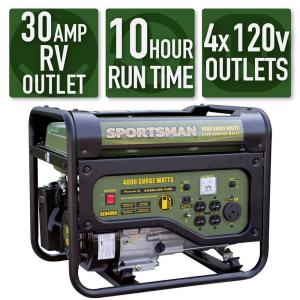 Sportsman 4,000/3,500-Watt Gasoline Powered Portable