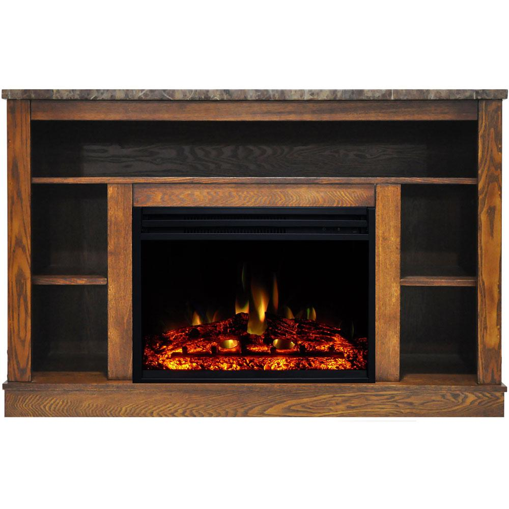 Cambridge Seville 47 In Electric Fireplace Heater Tv