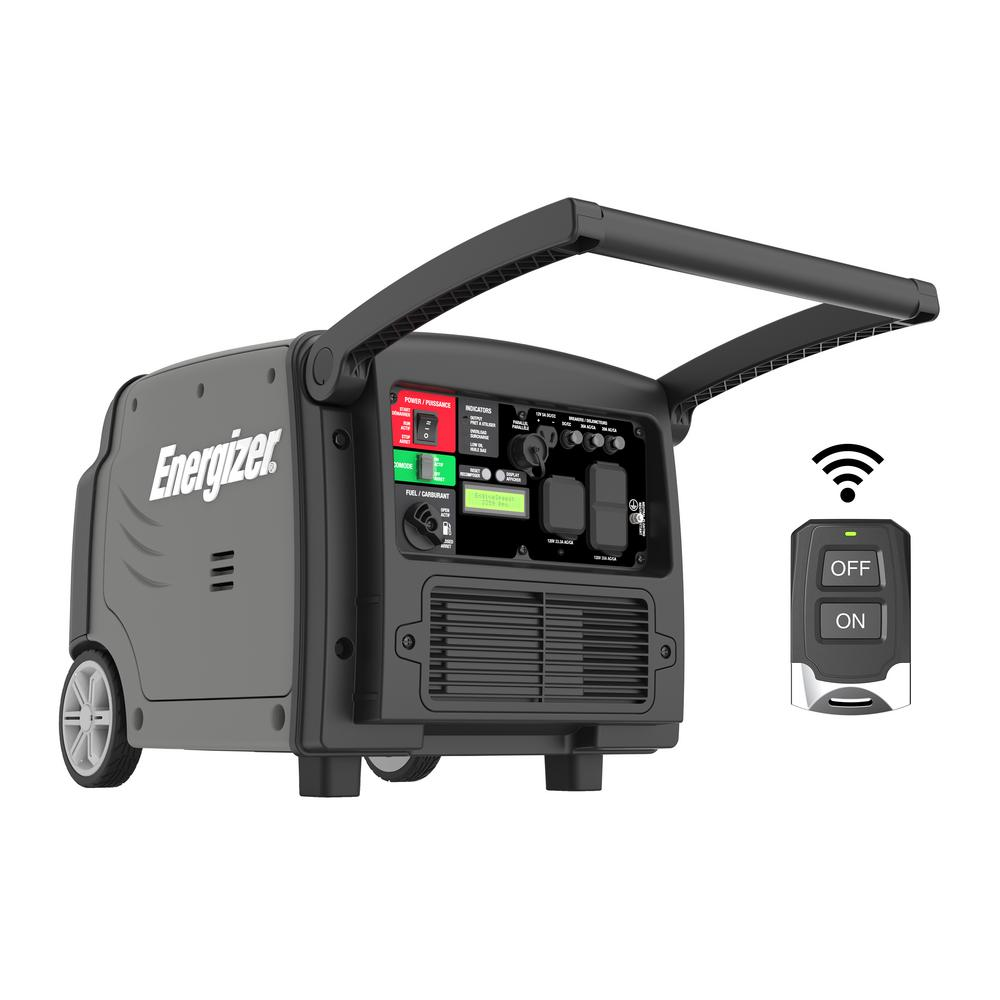 3200-Watt Gas Powered Portable Inverter Generator with Remote Start and Parallel