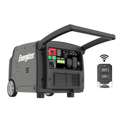 3200-Watt Gas Powered Portable Inverter Generator with Remote Start and Parallel Capability CARB Approved