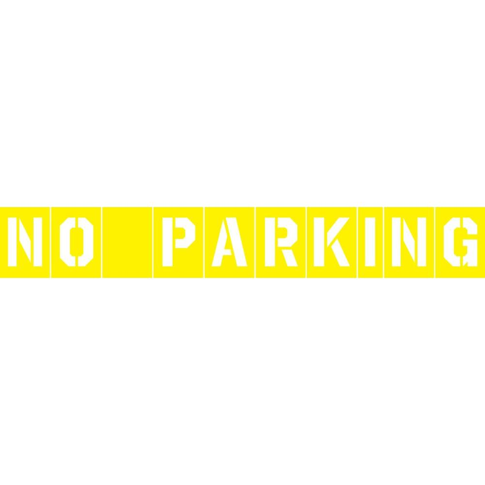 The Hillman Group No Parking Stencil