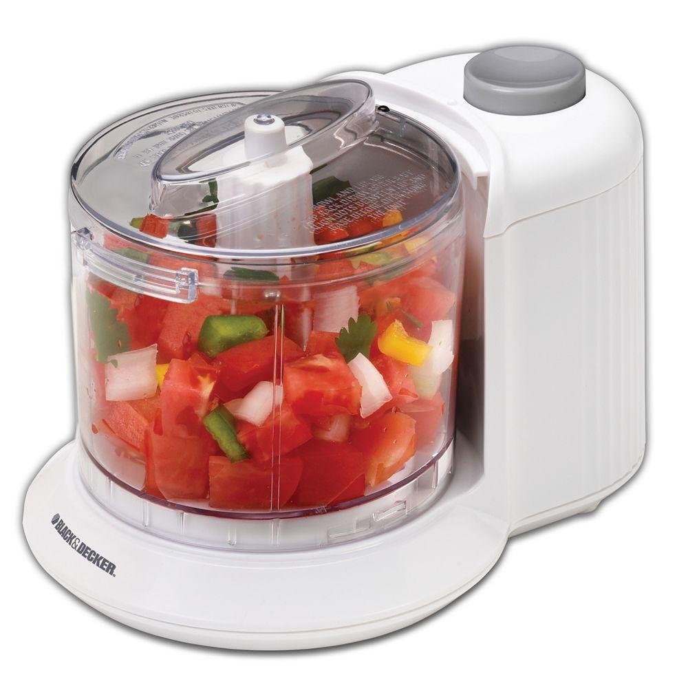 BLACK+DECKER 1.5-Cup Food Chopper in White-DISCONTINUED