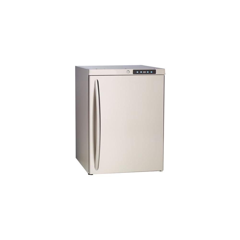 Bullet Premium Locking 5.6 cu. ft. Outdoor Refrigerator in Stainless Steel