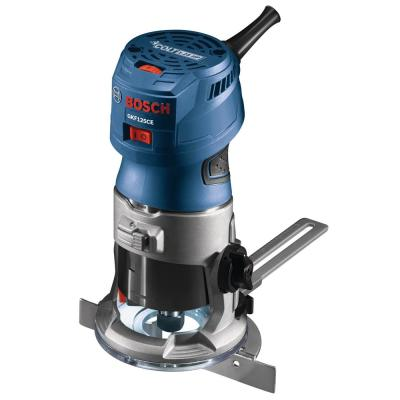 7 Amp 1-1/4 HP Variable Speed Fixed-Based Palm Corded Router Kit