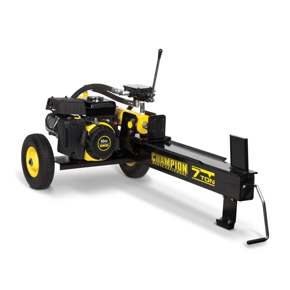 7 Ton 80cc Gas Hydraulic Log Splitter