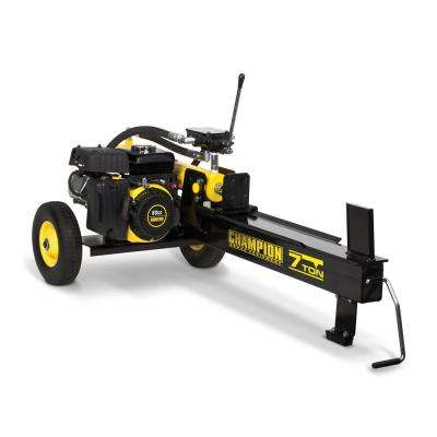 7-Ton 80cc Gas Hydraulic Log Splitter