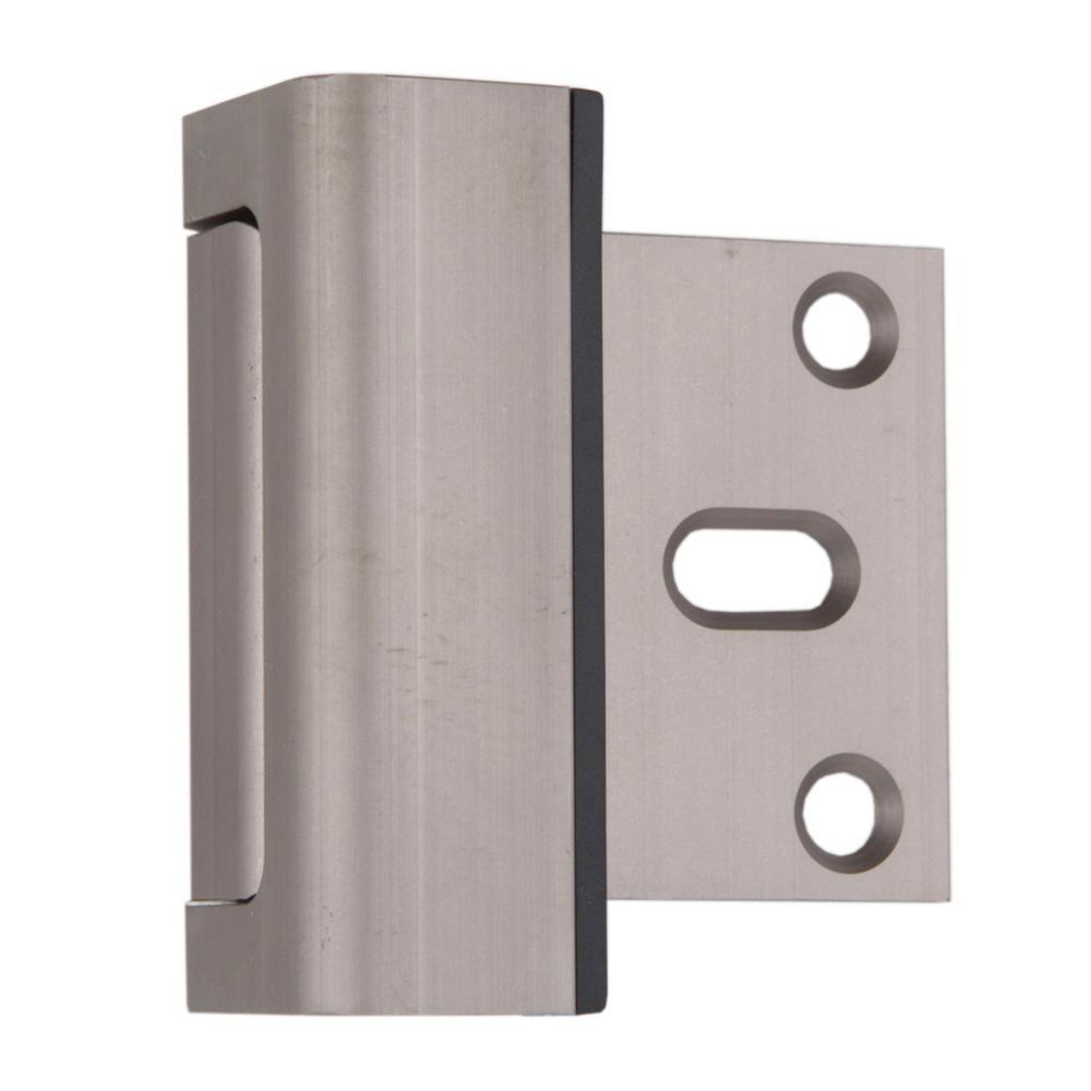 Child Proof Door Guardian in Satin Nickel (2-Pack)