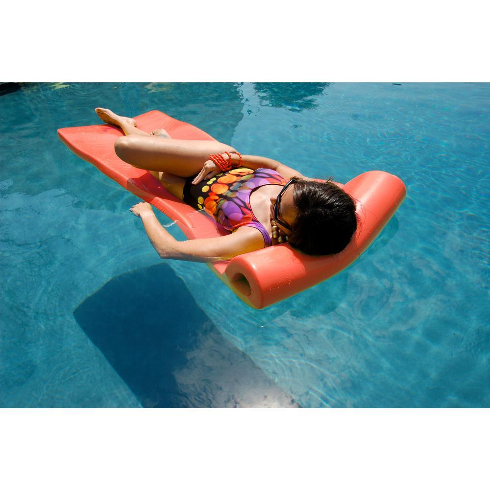 Pool Mate XX-Large Foam Mattress Coral Pool Float-8020048PM - The ...