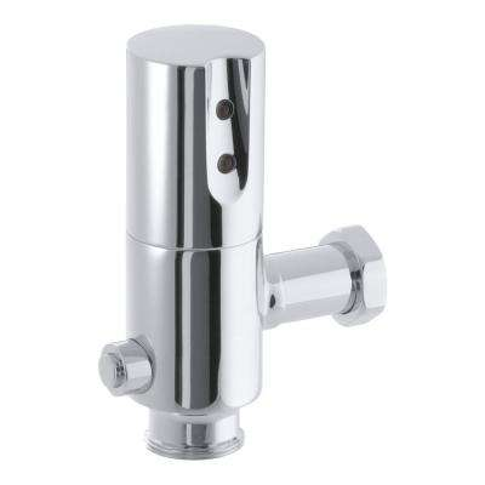 Tripoint Toilet 1.28 GPF Flushometer Flush Valve in Polished Chrome