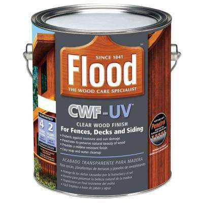 1 gal. Clear CWF-UV Oil Based Exterior Wood Finish
