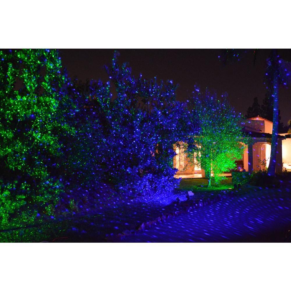 Blisslights Spright Black Indoor Outdoor Firefly Laser Light