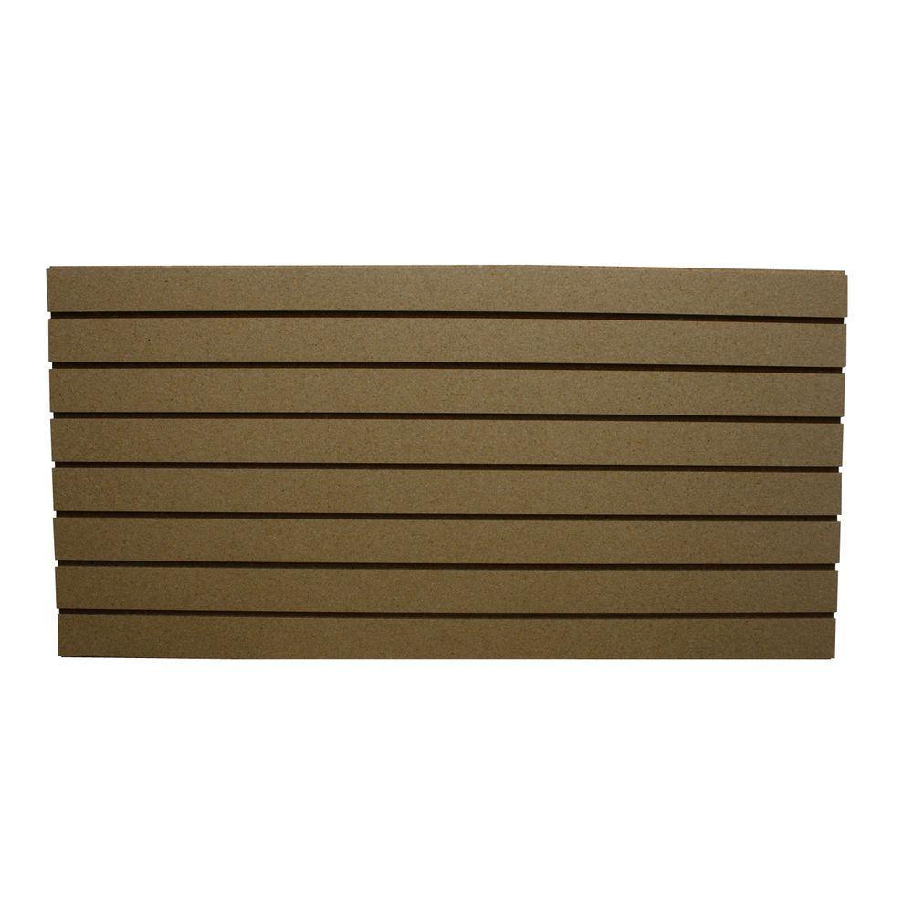 Box Wall Panels : Garageescape ft paintable slatwall easy panel