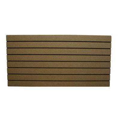 2 ft. x 4 ft. Paintable Slatwall Easy Panel (2-Piece per Box)