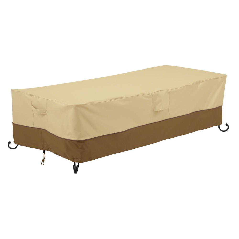 Classic Accessories Veranda 60 In. Rectangular Fire Table Cover
