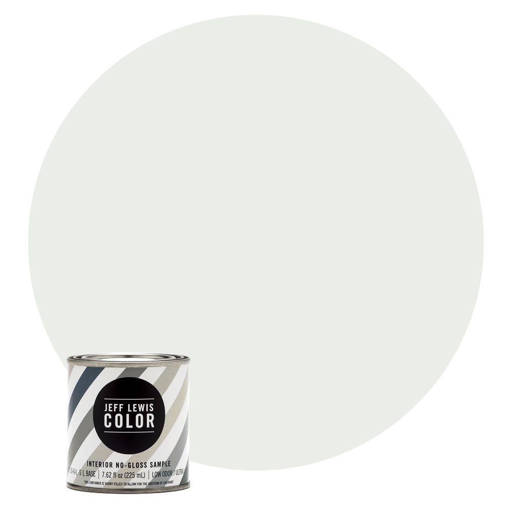 8 oz. #JLC612 Cotton No-Gloss Ultra-Low VOC Interior Paint Sample