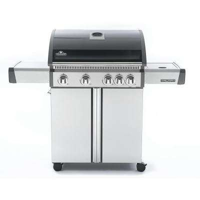 Triumph 495 with Side Burner Natural Gas Grill