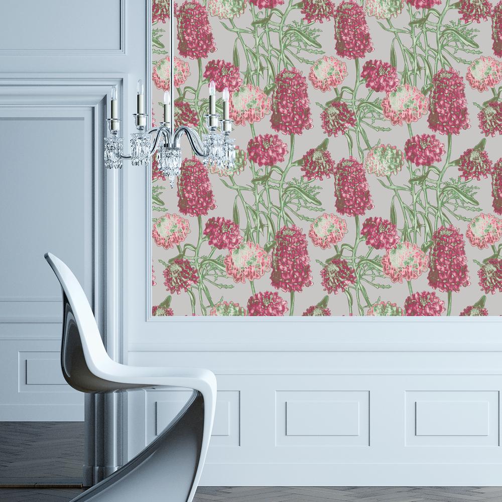 Blush Hydrangea Wallpaper