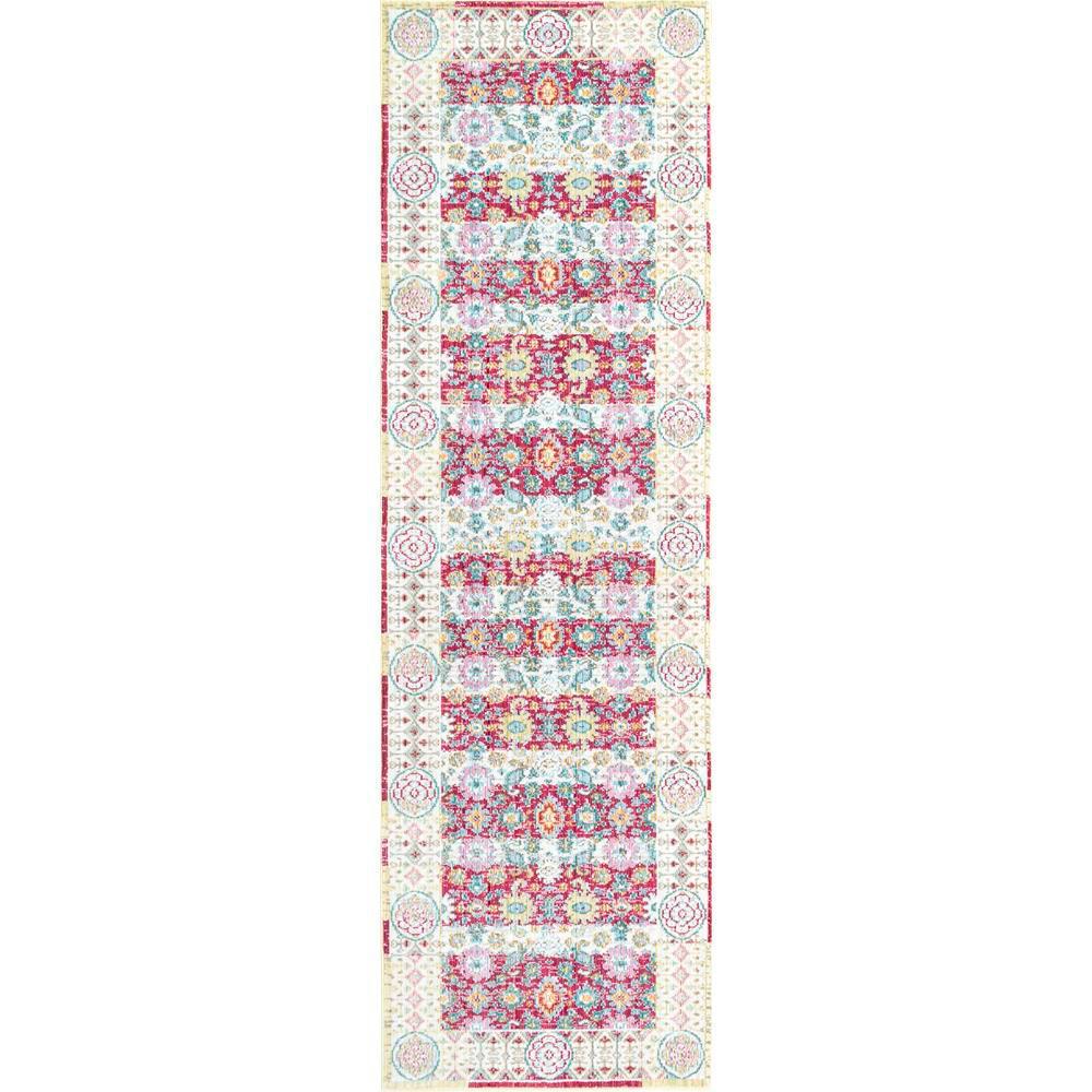 Nuloom Vintage Modesto Cherry Pink 3 Ft X 8 Ft Runner